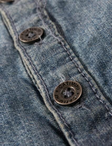 catimini dress jeans material