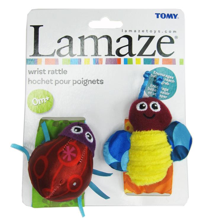Lamaze Garden Bug Wrist Rattles