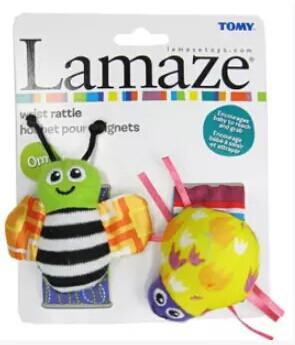 lamaze garden bug rattle