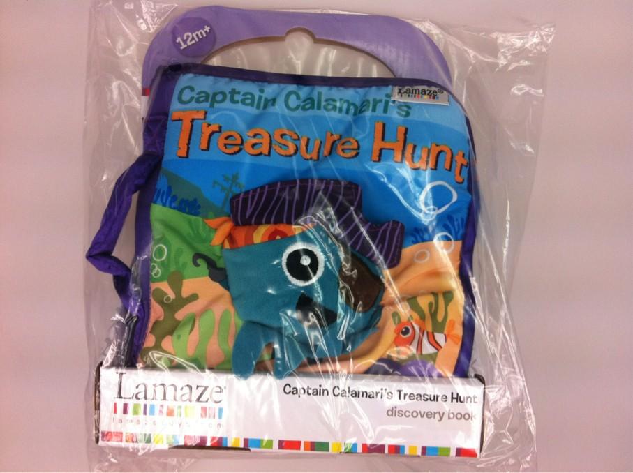 lamaze captain calamari cloth book