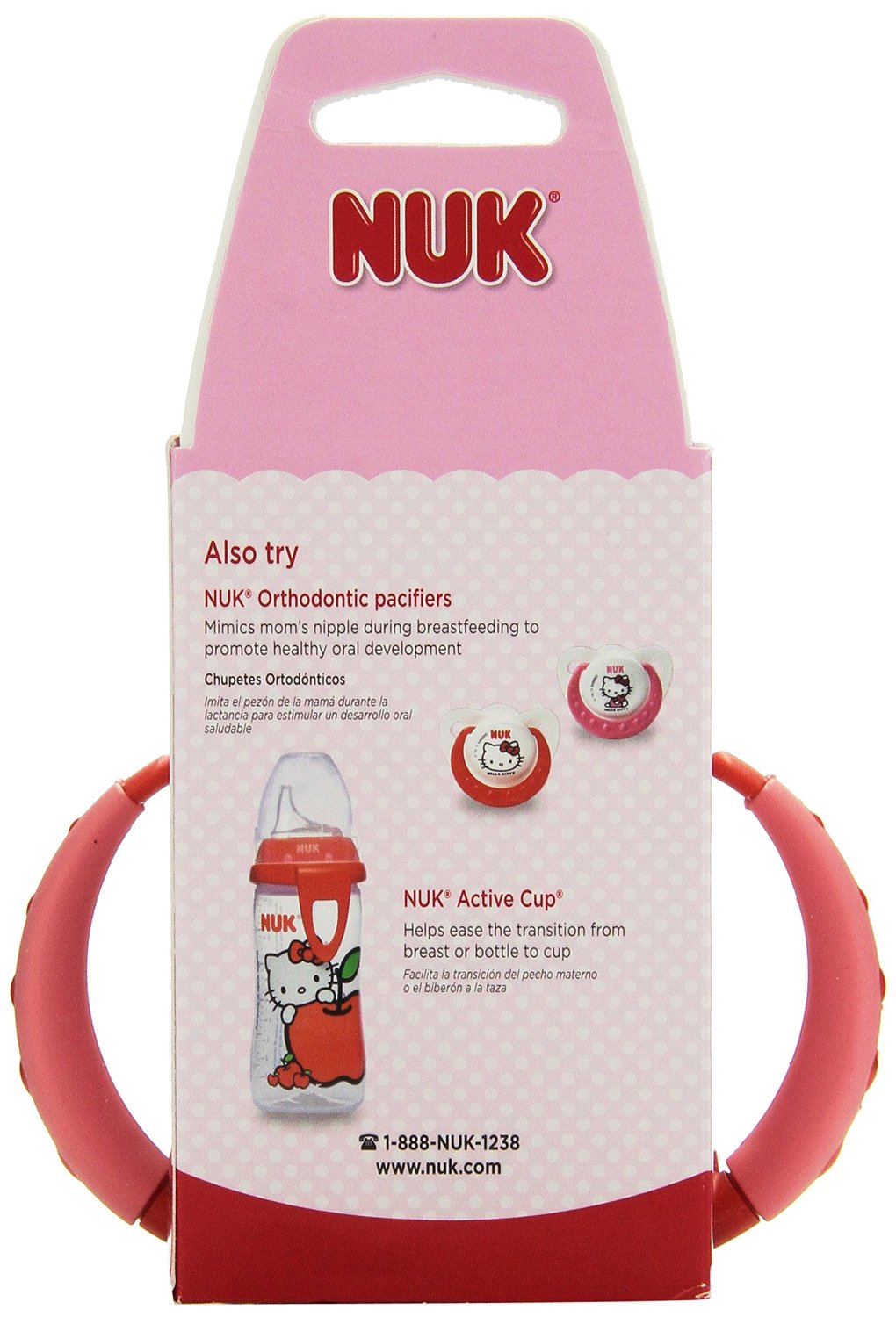 NUK Hello Kitty Silicone Spout Learner Cup