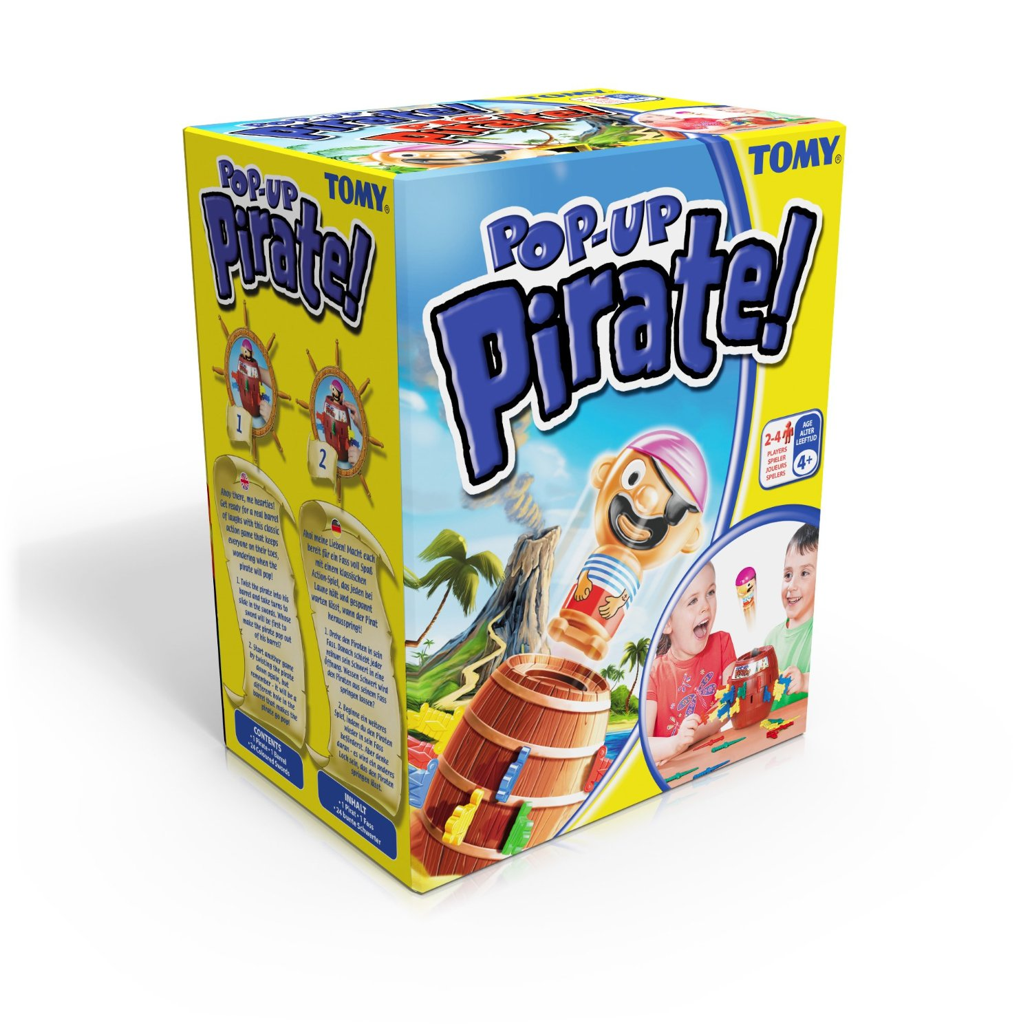 Tomy Pop-Up Pirate Games