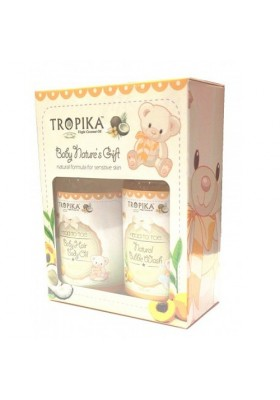 Tropika Baby Nature's Starter Kit Gift Set 100ml -HAPPY